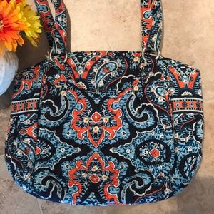 Vera Bradley Glenna Shoulder Bag Marrakesh Blue